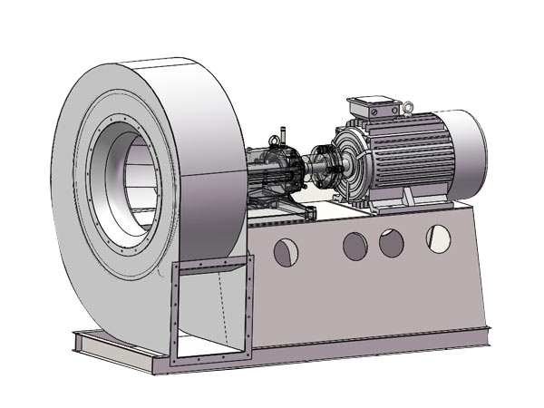 Commercial Blower Bearings : Industrial fan blower