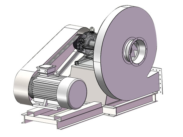 Medium Pressure Centrifugal Blower : High pressure centrifugal fan